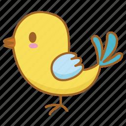 baby, bird, chick, tweet, twitter icon