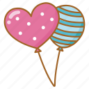 balloon, celebrate, celebration, helium, party icon