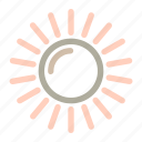 flower, season, spring, sun, weather icon