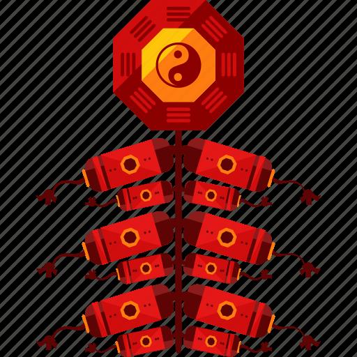 china, chinese, fireworks icon