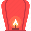china, chinese, kongming lantern icon
