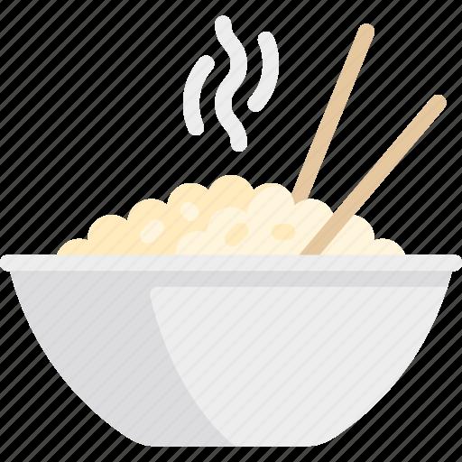 china, chinese, eat, food, rice icon