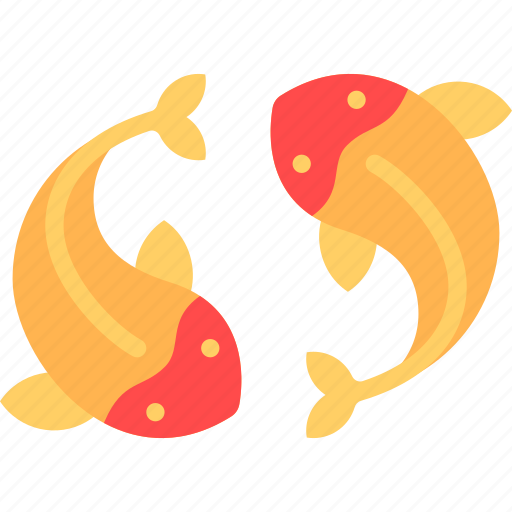 china, chinese, fish icon