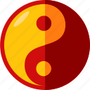 china, chinese, taichi icon