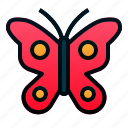 animal, butterfly, garden, insect, spring icon