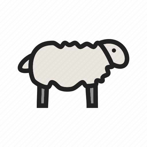 cattle, grass, lamb, natural, sheep, spring, young icon