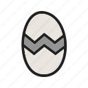 birds, chicken, egg, eggs, natural, nest, spring icon