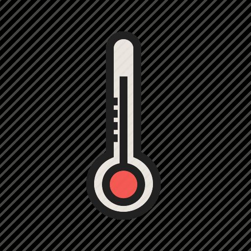 check, measurement, spring, temperature, warm, weather icon