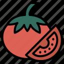 spring, tomato, food, fruit, vegetable