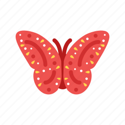 beauty, butterflies, butterfly, flying, garden, nature, spring icon