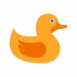 animal, bird, duck, duckling, ducklings, small, spring icon
