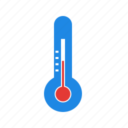 check, measurement, spring, temperature, warm, weather icon