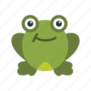 amphibian, frog, frogs, pond, spring, water, wildlife icon
