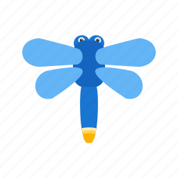 field, firefly, flying, garden, nature, season, spring icon