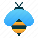 animal, bee, bug, garden, insect, spring icon