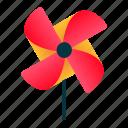 spring, craft, origami, pinwheel, windmill