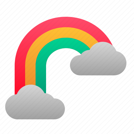 Forecast, rainbow, spring, weather icon - Download on Iconfinder