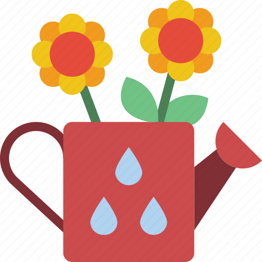 Flower, spring, watering icon - Download on Iconfinder