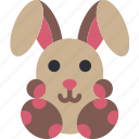 easter, egg, rabbit, spring