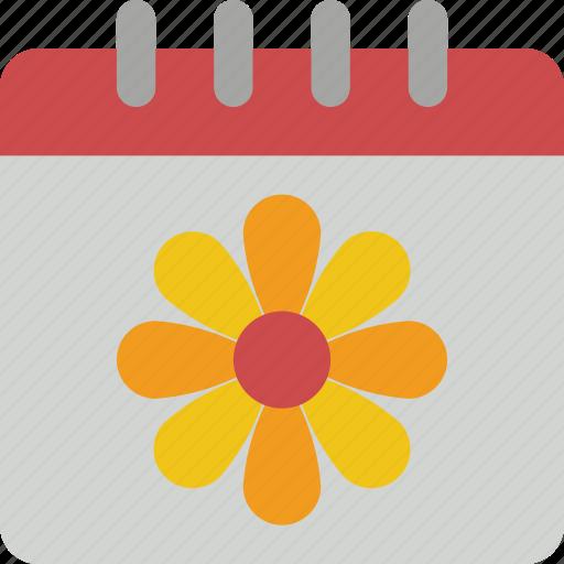 calendar, date, easter, spring icon