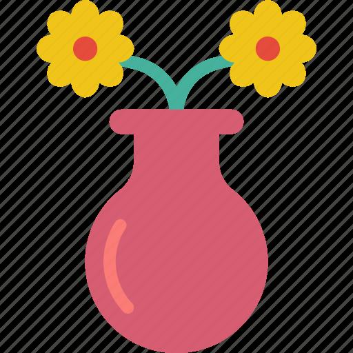 Easter, flower, spring, vase icon - Download on Iconfinder