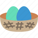 spring, eggs, easter icon