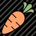 carrot, vegetable, healthy, food, fresh, vegetarian, spring