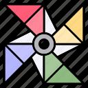 pinwheel, windmill, wind, toy, kids, children, spring