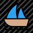 cruise, ship, boat, transport, spring