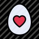 egg, favorite, yolk, food, love