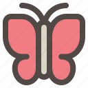 animal, butterfly, insect, spring time, summer icon
