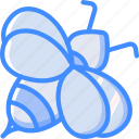 bee, bug, insect, spring icon