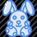 easter, egg, rabbit, spring