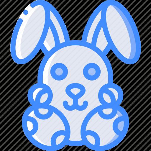 easter, egg, rabbit, spring icon