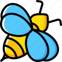 bee, insect, spring icon