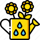 can, flower, spring, watering icon