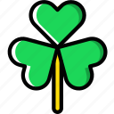 clover, easter, spring icon