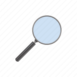 cartoon, glass, lens, magnification, magnifier, magnifying, optical icon