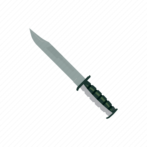 blade, cartoon, cut, handle, knife, sharp, steel icon