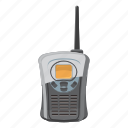 cartoon, communication, military, radio, technology, war, wave icon