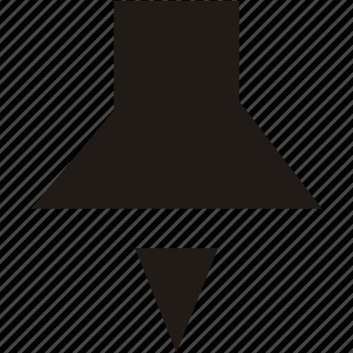 drawingpin, locate, navigation, pin icon
