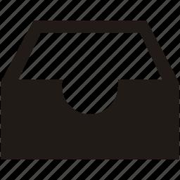 empty, tray icon