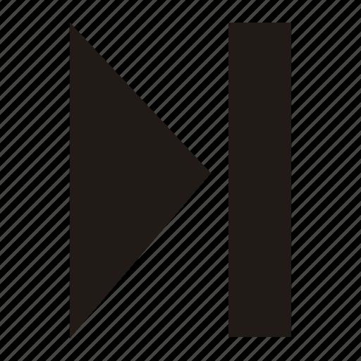 arrow, forward, right icon