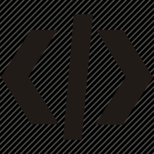 code, coding, development, html, insert, programming icon