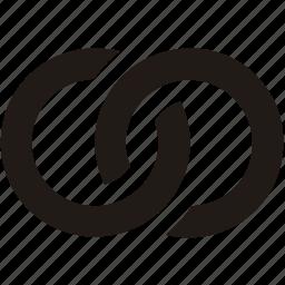 chain, follow, hyperlink, link, url icon