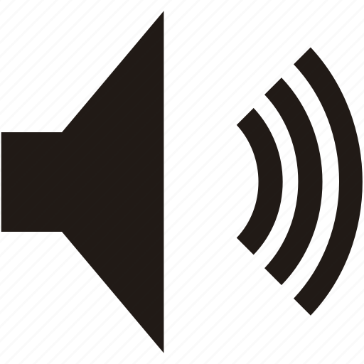 media, player, sound, volume icon
