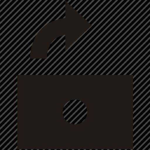 access, open, security, unlock icon