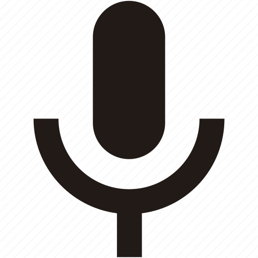 mic, microphone, recorder, voice icon