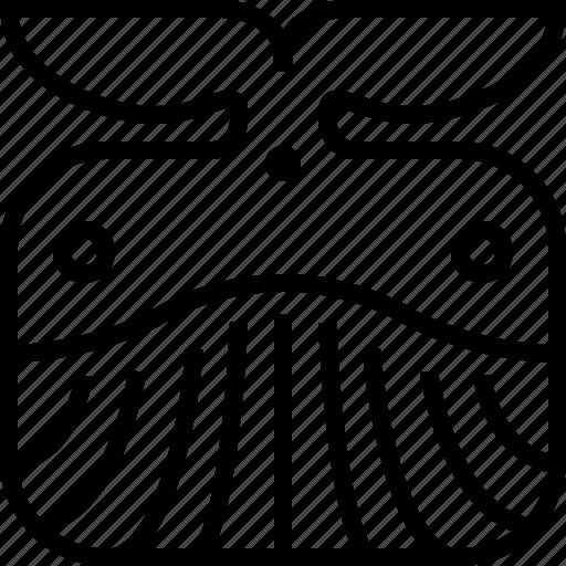 animals, avatar, head, ocean, square, whale, yumminky icon