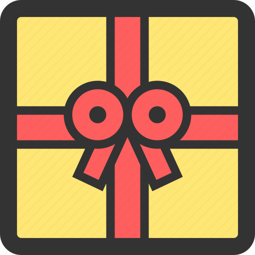birthday, box, decoration, gift, package, present icon